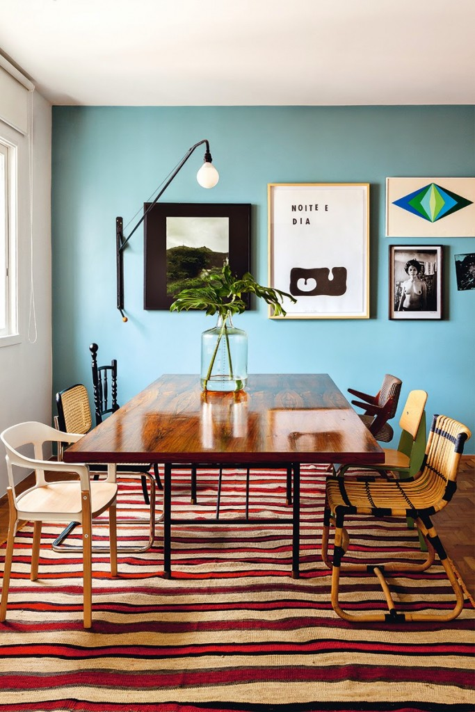 carpet-dining-room-kilim-rug-idea-dining-room-design
