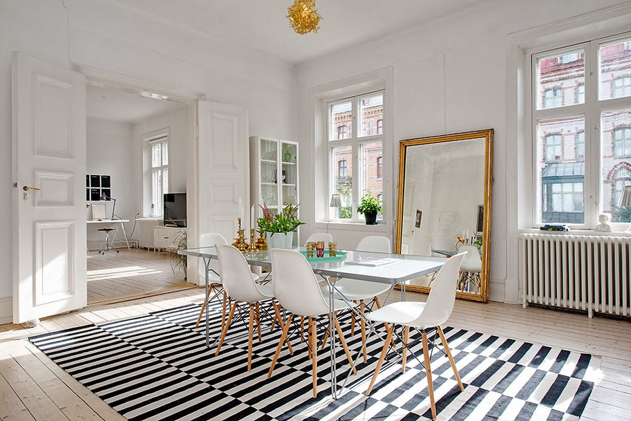 carpet-dining-room-design-scandinavian-style-carpet-dining-room-design