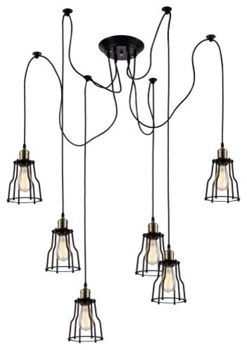 chandelier-of-6-lights-retro-unscrew-industrial-design-pendant