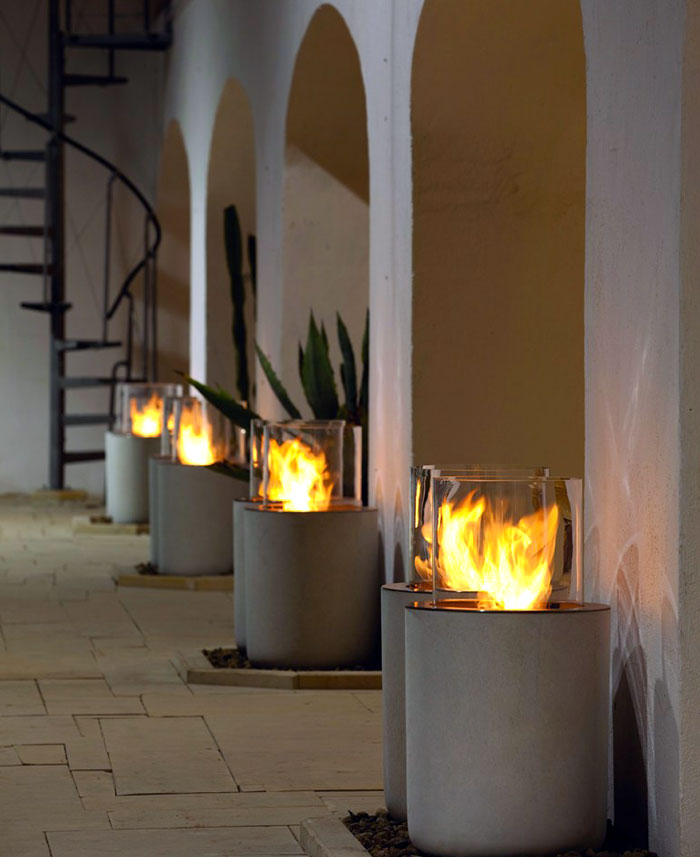 entrance-outdoor-area-lighting-fireplace-vascular-stairs-about-decorative-concrete