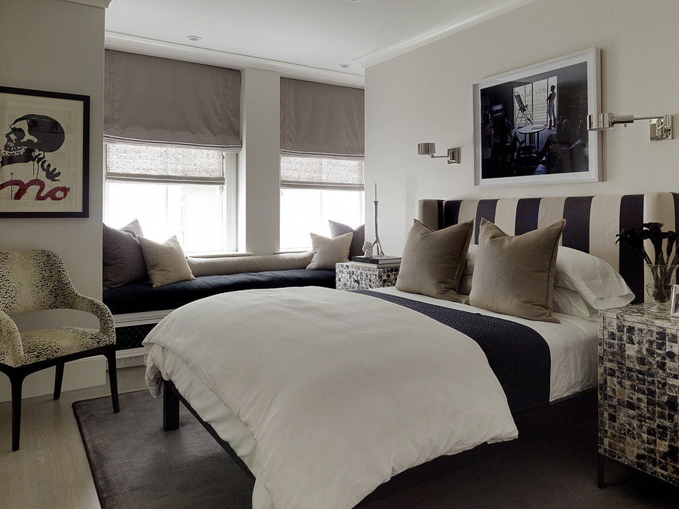 headboard-in-black-and-white-eclectic-design-bedroom