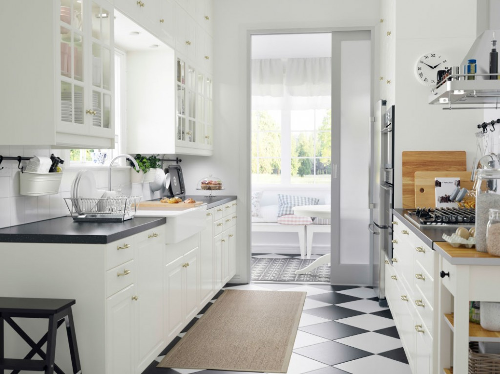 ikea-classic-modern-kitchen-system-in-white-kitchen-shelves-with-glass-doors