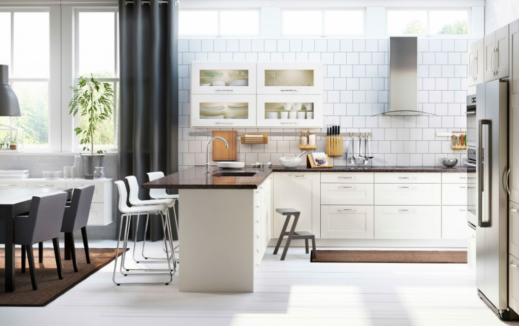 ikea-contemporary-kitchen-with-wall-shelves-kitchen-shelves-with-glass-doors