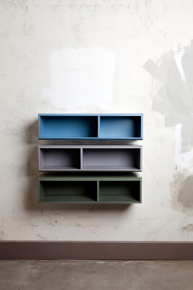rustic-horizontal-wall-shelf-ideas-modern-blau-grun-grey-bookcase-design