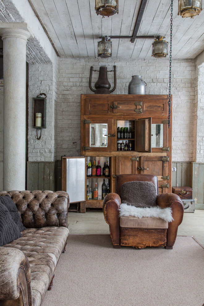 rustic-industrial-style-obsolete-chesterfield-sofa-seating