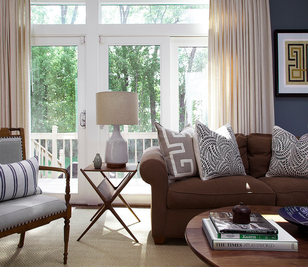 upholstered-sofa-in-traditional-set-up-trendy-living-room-in-brown