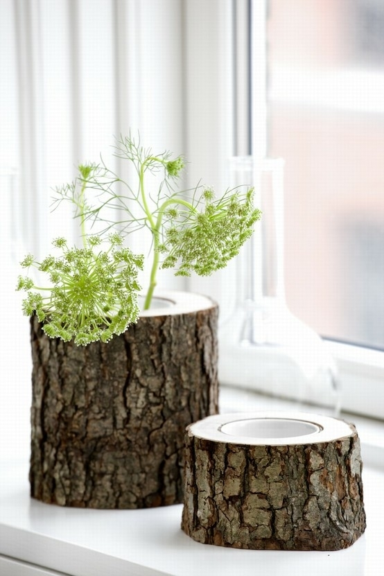vase-from-a-small-tree-trunk-modern-vases-diy-ideas