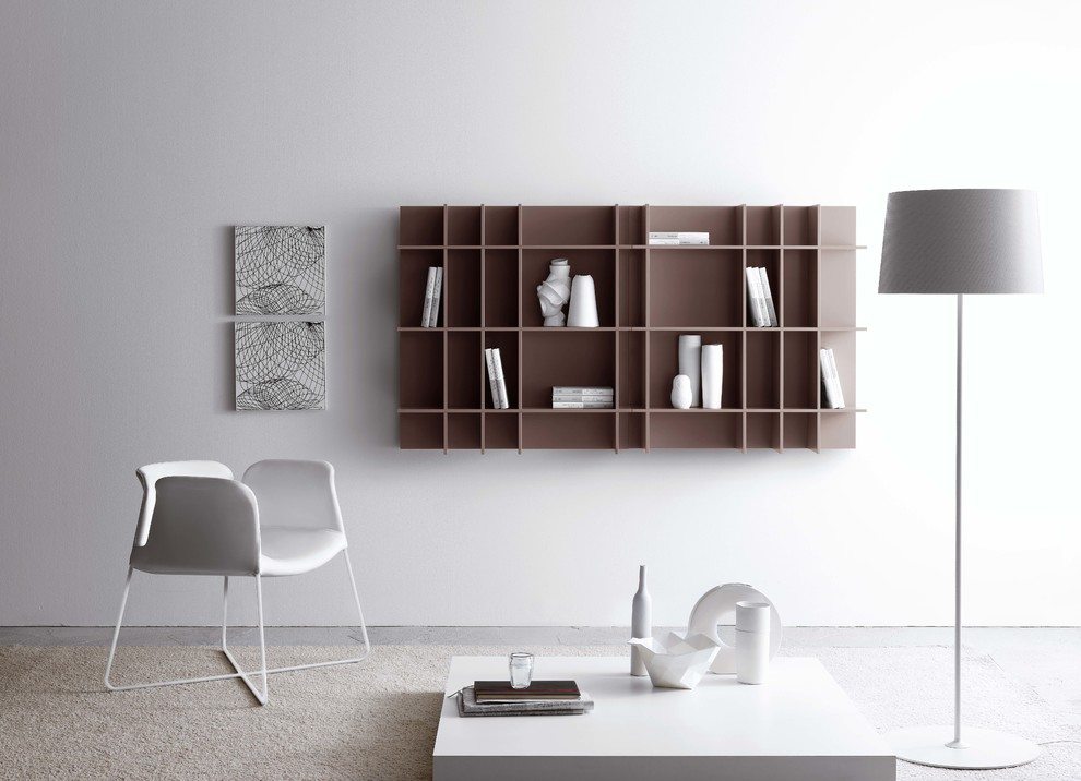 wall-shelf-modern-designer-simply-floor-lamp-chair-white-grey-bookcase-design