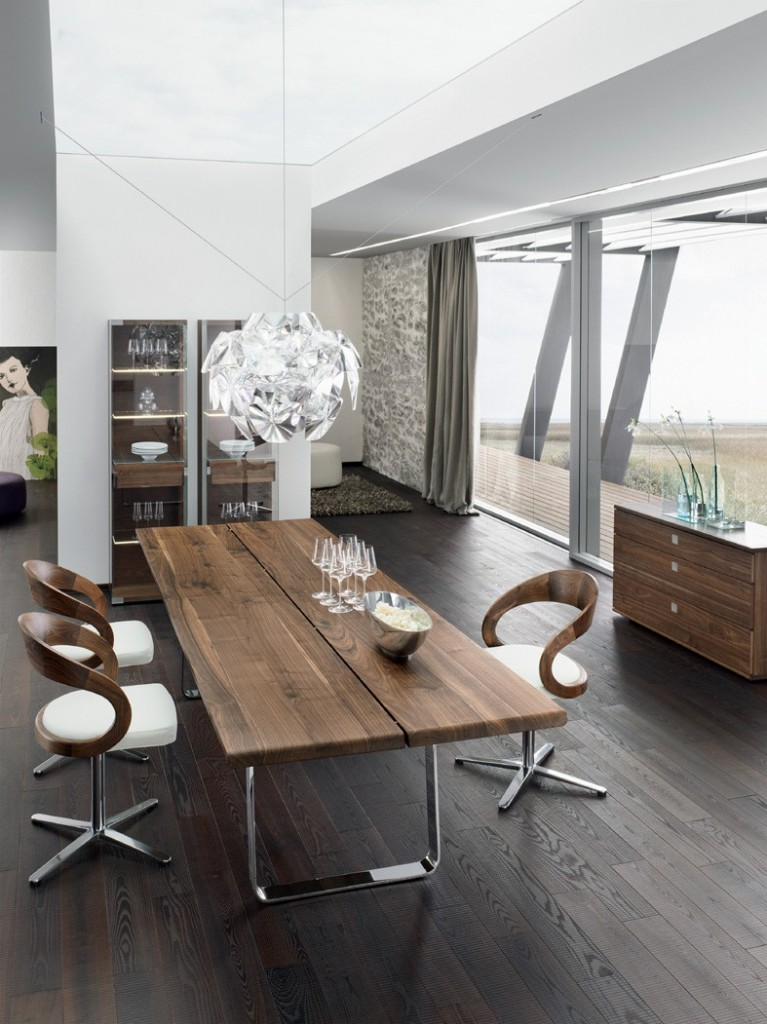 walnut-solid-wood-natural-wood-cantilever-glass-wall-wooden-table
