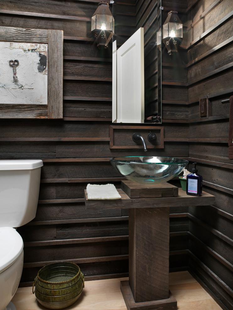 wood-wall-mirror-lanterns-and-rustic-bathroom-vanity-furniture