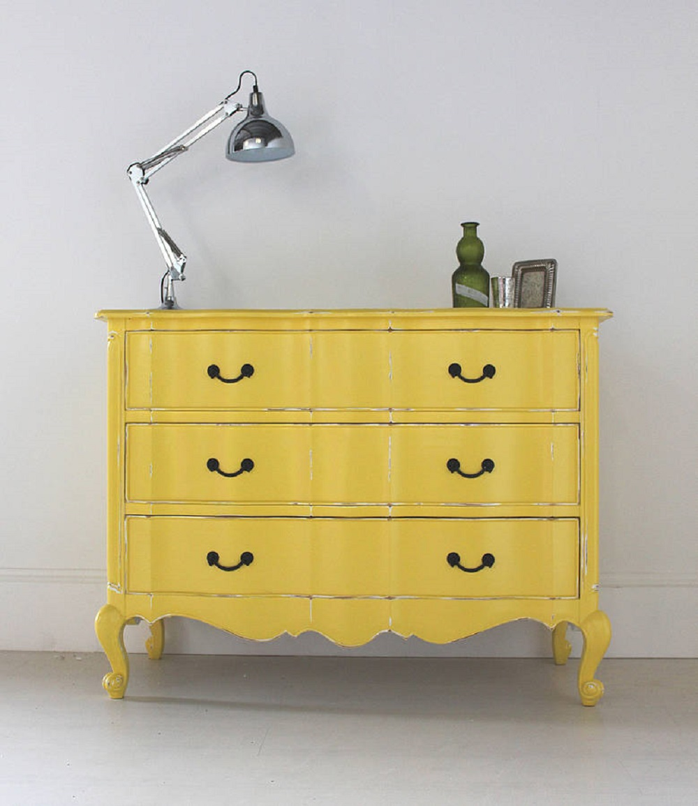 yellow-chest-of-drawers-in-the-french-style-chest-of-drawers