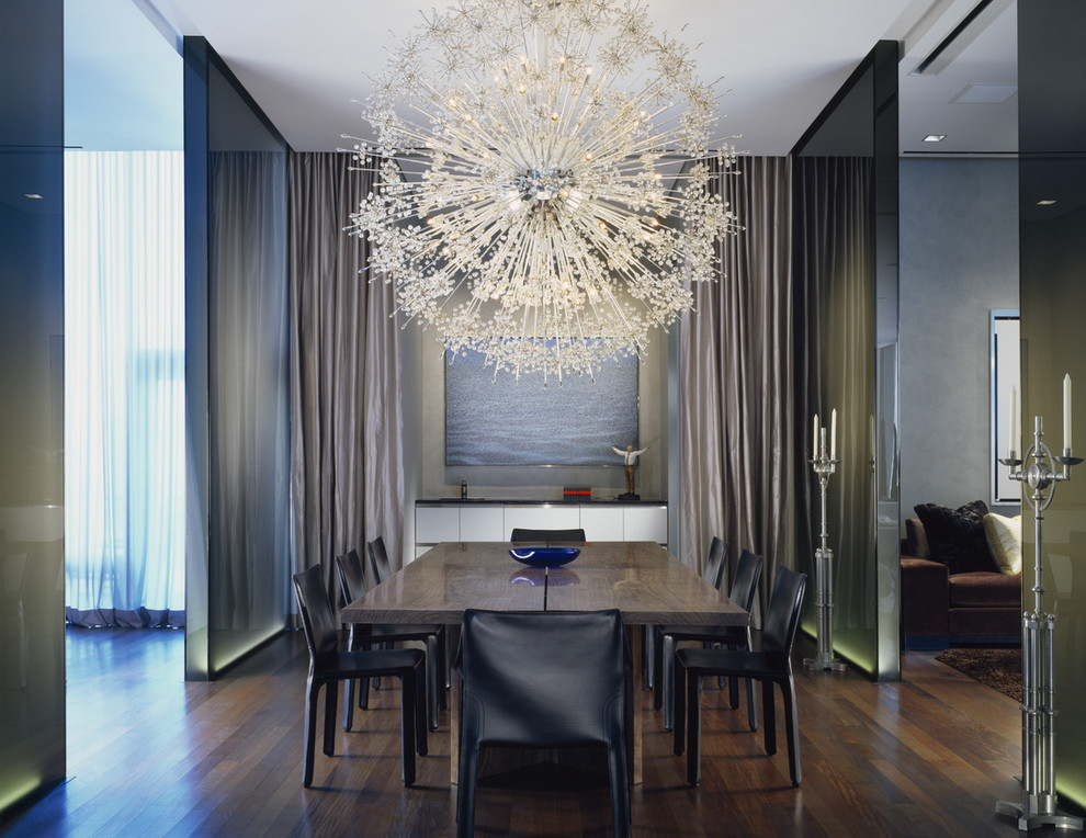 F contemporary chandelier for your living room a
