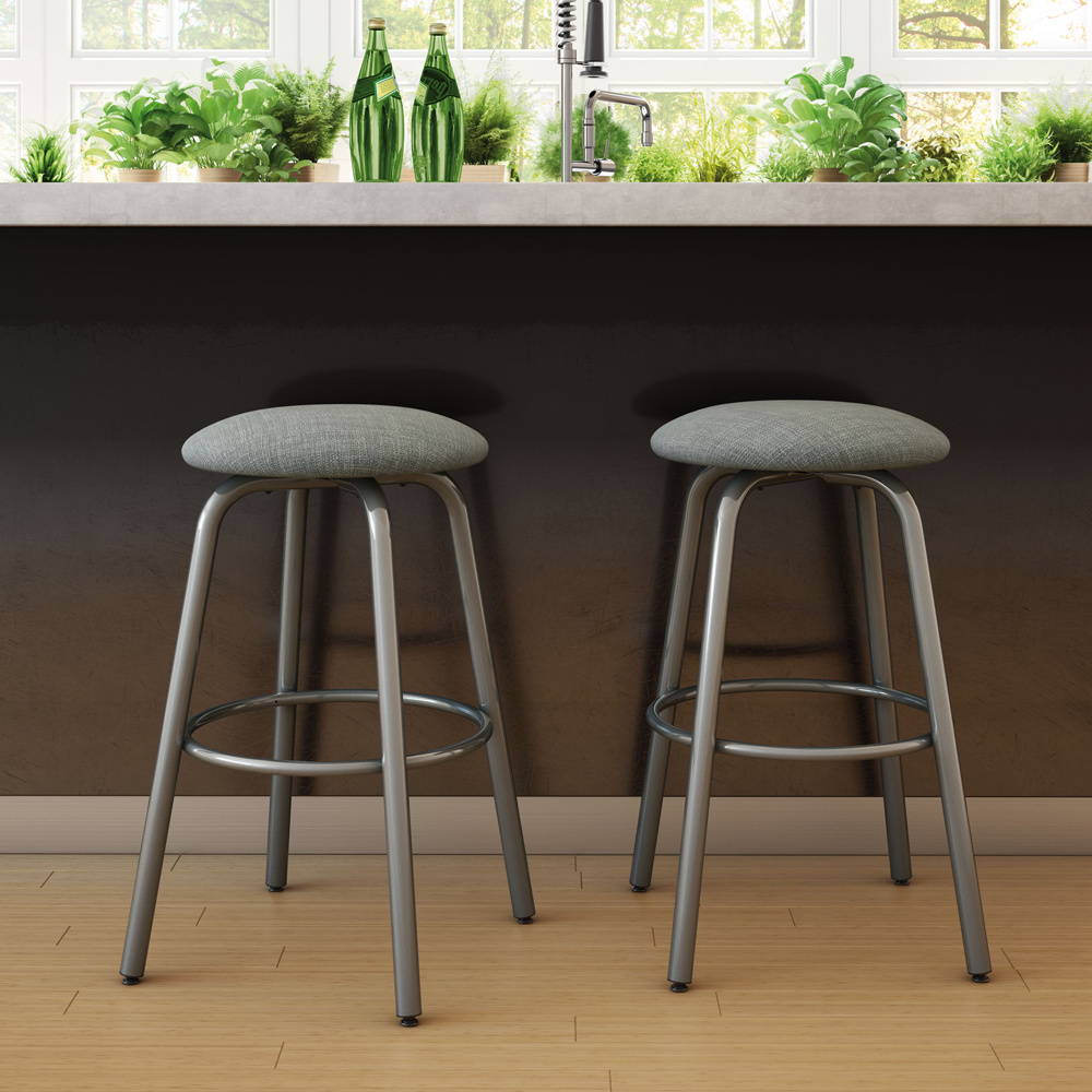 Contemporary bar stools aluminium feet bar stools for your kitchen