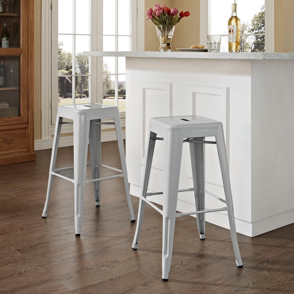 Minimalism bar chairs from the metal bar stools for your kitchen