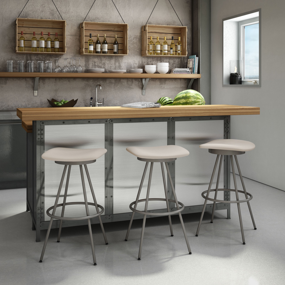 Modern bar stools from steel bar stools for your kitchen (2)