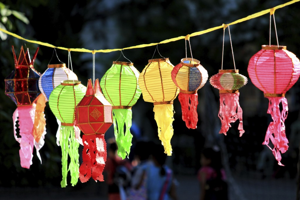 Thai style decoration lamp china lamps Paper lantern