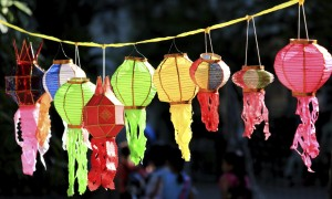 Thai style decoration lamp