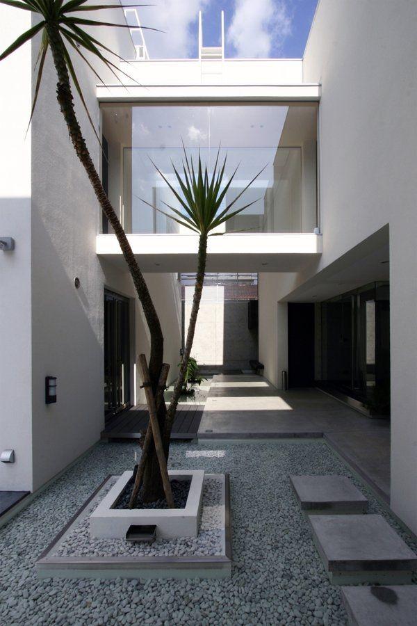 Modern Minimalist Garden House Landscape In The Minimalist Style Luxury