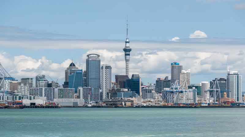 Auckland-city-New-Zaeland-Tower-Harbour-Buildings-Ocean-Landscape