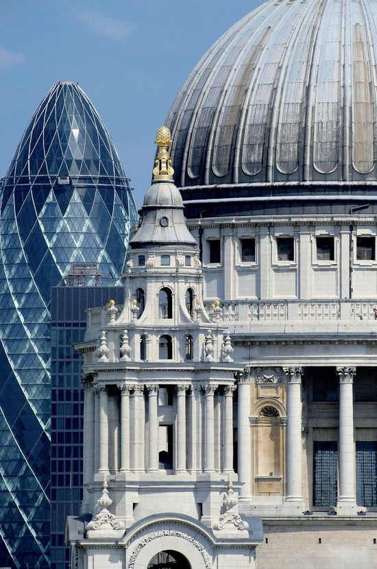 Cathedral St Paul London phasade