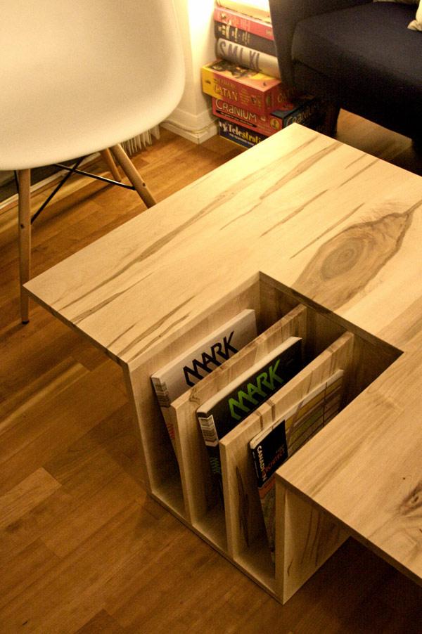 Creative idea book shelf wood