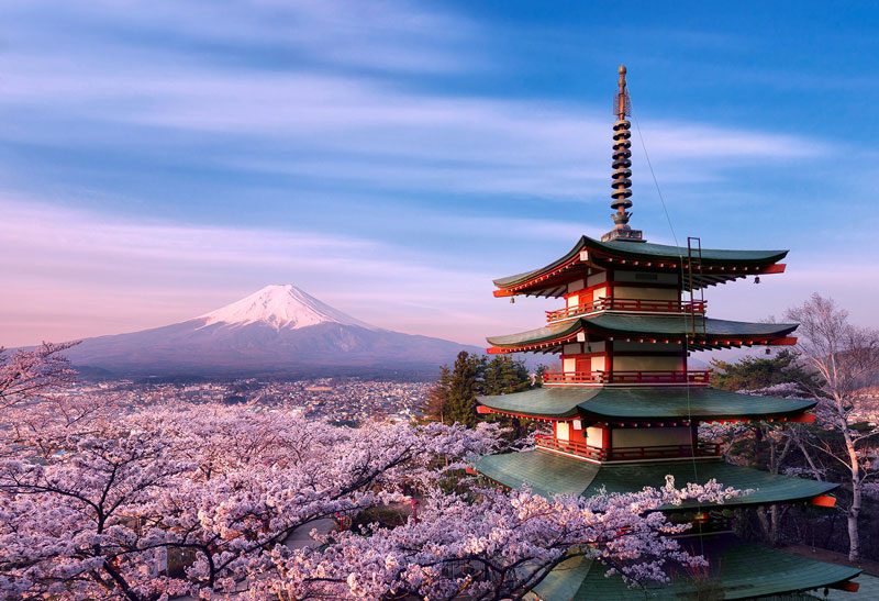 Fuji-volcano-beautiful-view-Japan
