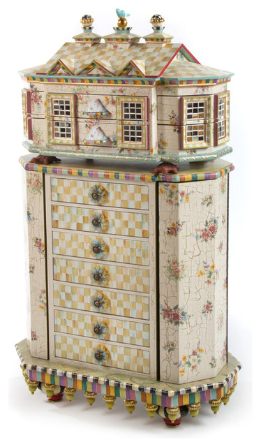 Jewelry storage eclectic design