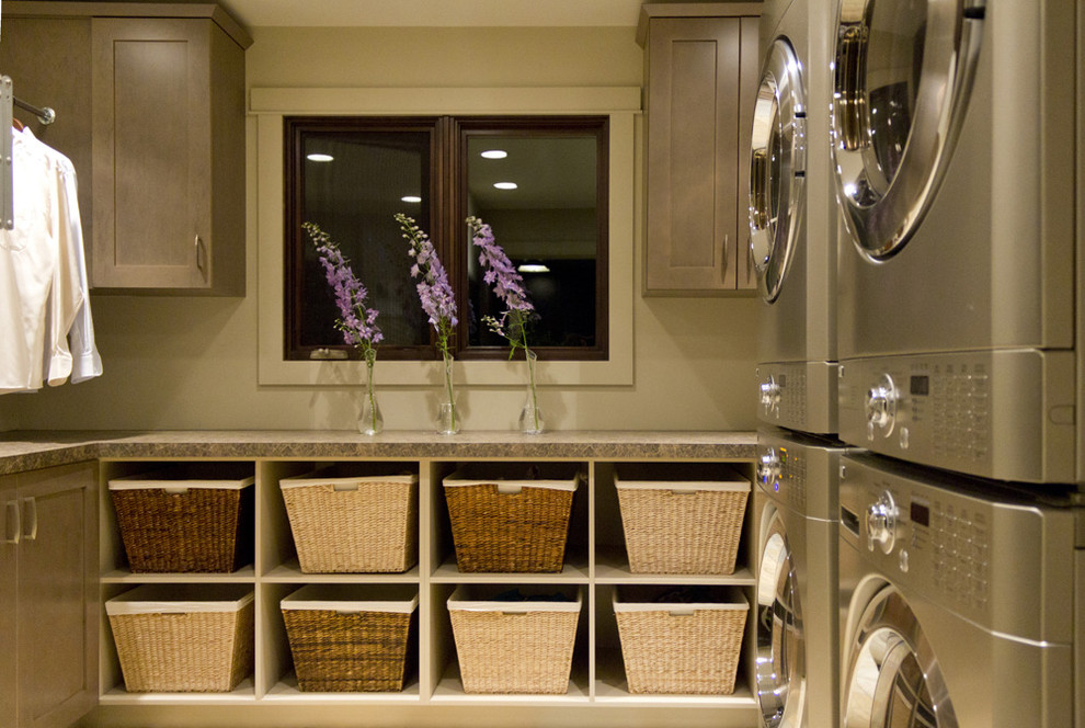 Laundry room shelving system order budget modern storage