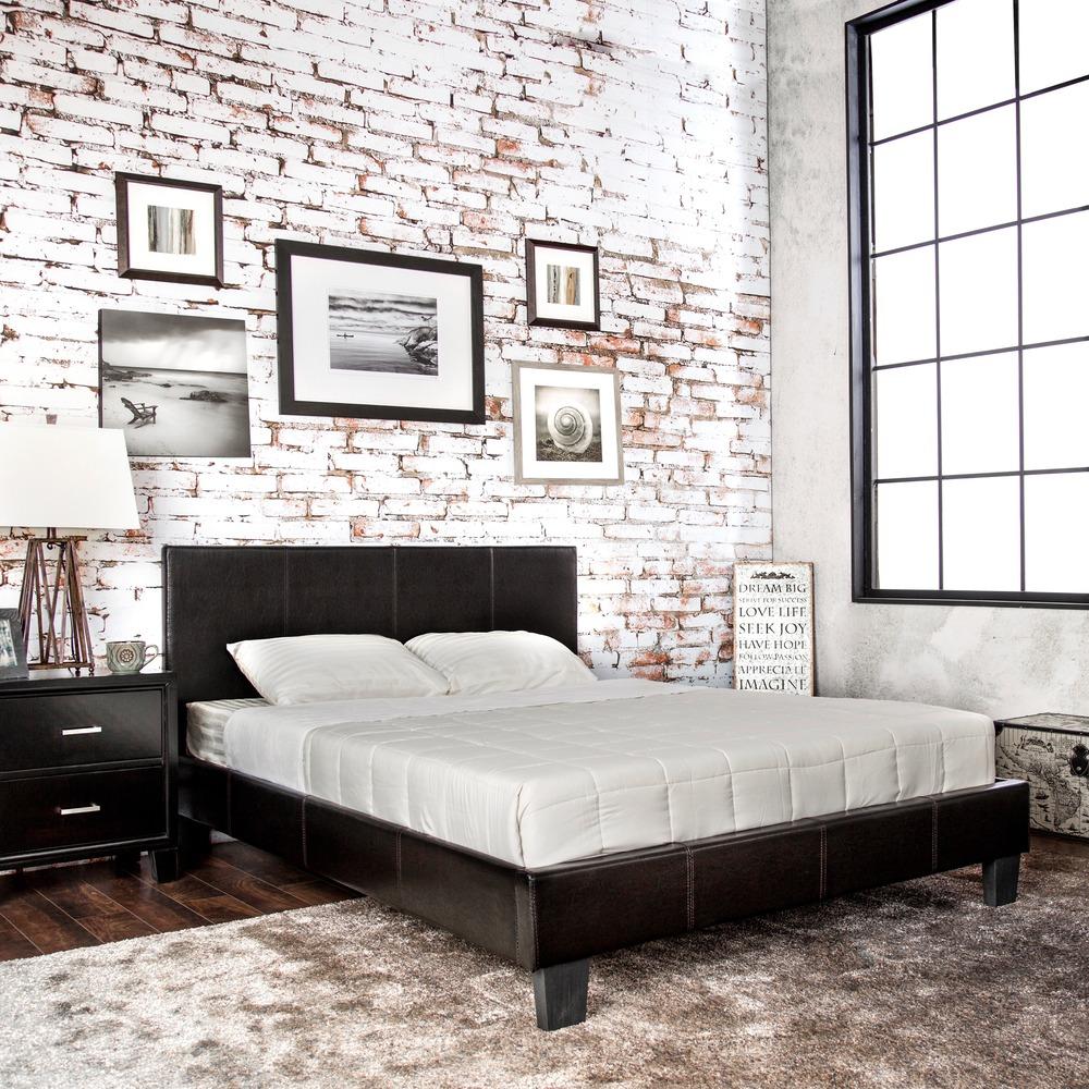 Loft bed with headboard - bedroom luxury beds