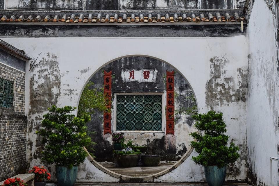 Mandarin's House Macau China Taipa village architectural gems UNESCO world heritage