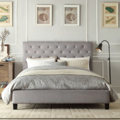 Bedroom With Stylish Bed