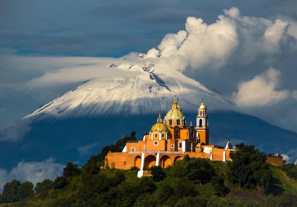 Popocatépetl, Mexico Vulcano iglesia de nuestra Volcanoes