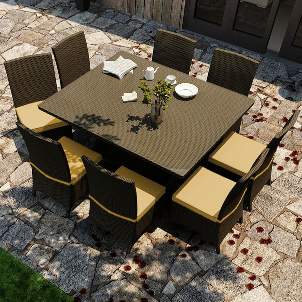 Rattan furniture outdoor patio furniture sets