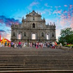 Landmarks in Macau, China