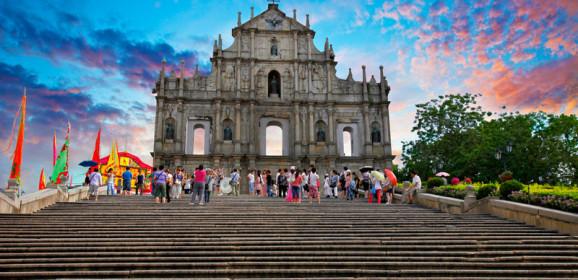 Landmarks in Macau, China