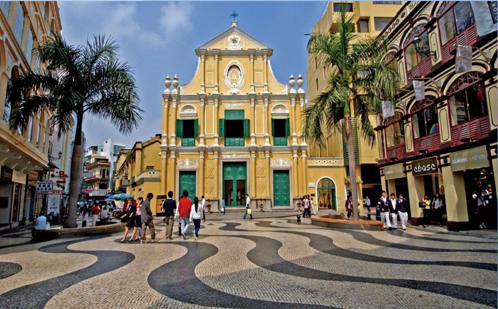 Senado Square, Macau, China Tourist and holiday resource top attractions