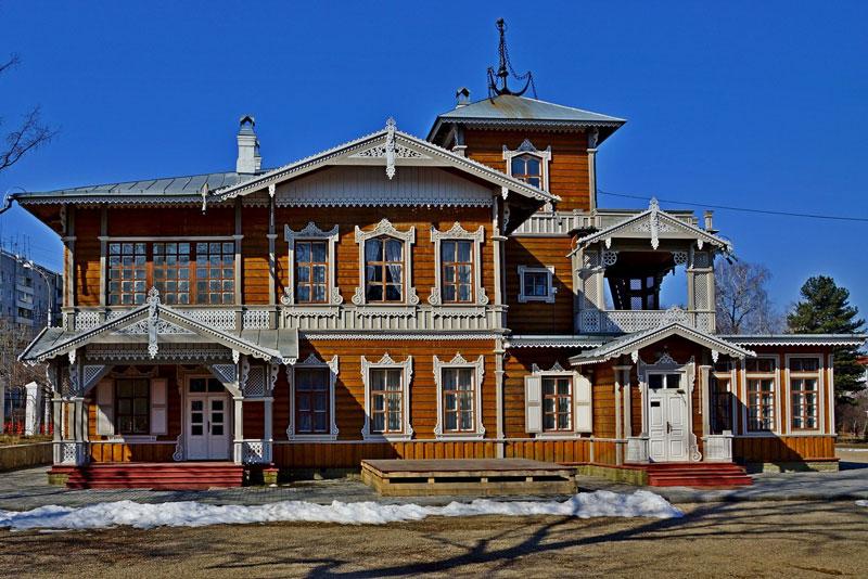 Sukacev-Museum Irkutsk Russia