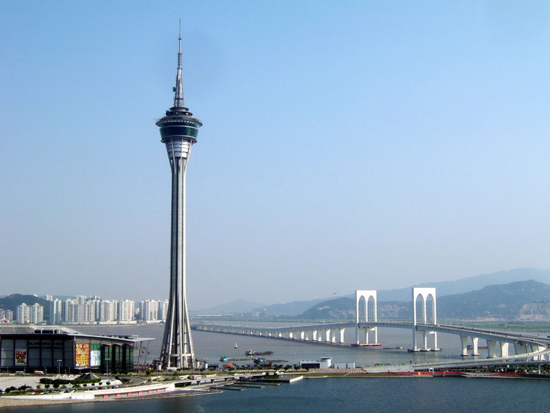 The-Tower-Macau View from high City View