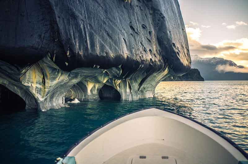 Travel-Amazing-Place-Marble-Caves-Patagonia-Chile-Boat-Trip-Sunshine