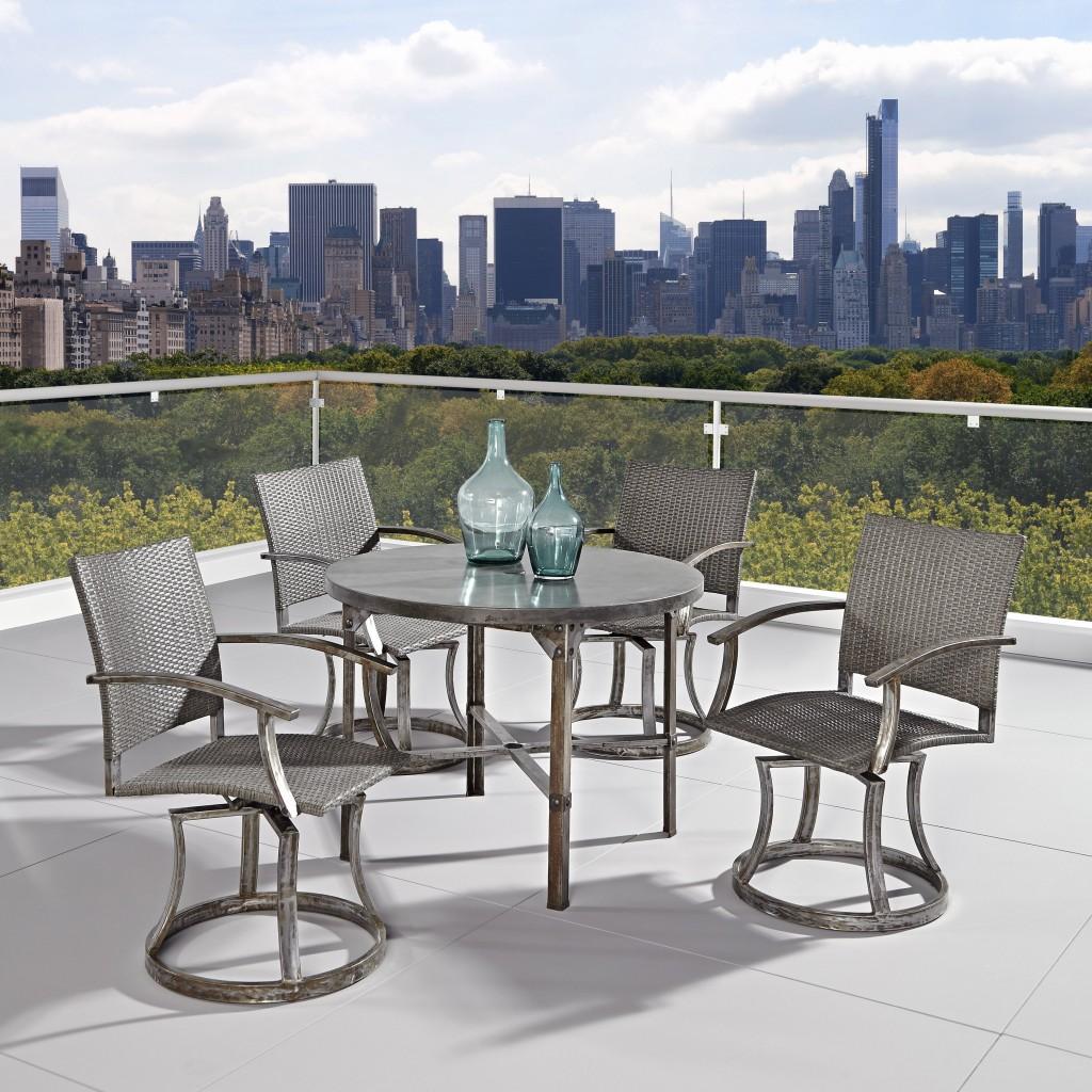 Urban terrace design garden furniture sets