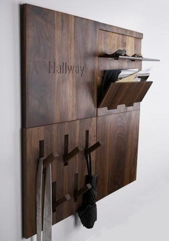 Wall shelf wooden gift idea lobby furniture