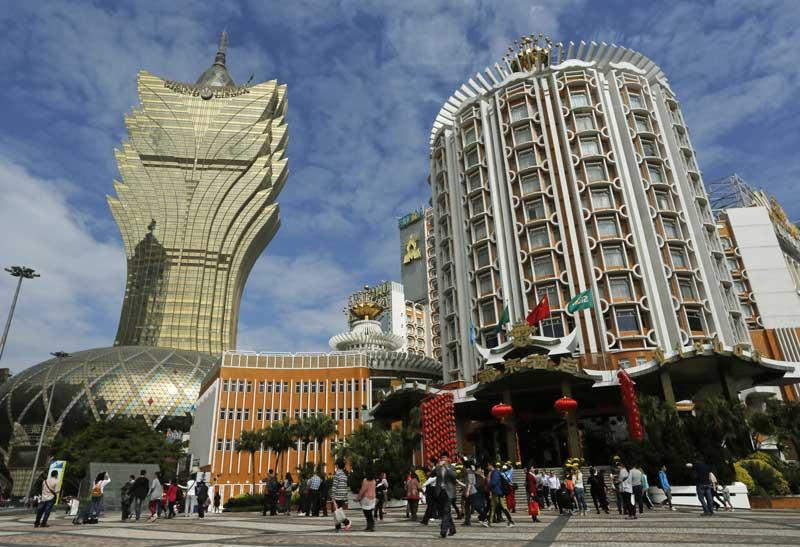 macau-town-casinos-China-buildings