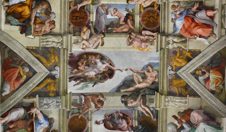 sistine_chapel_michelangelo vatican city Italy