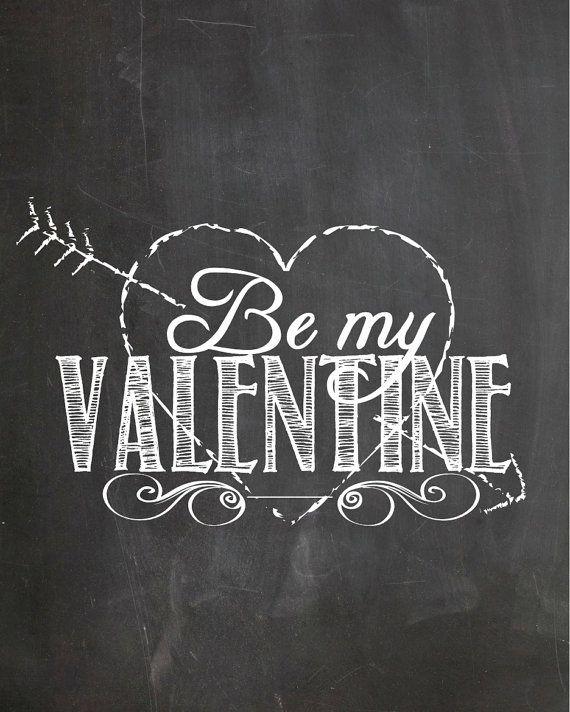 Be my Valentine Tafelwand-deco ideas for Valentine's Day