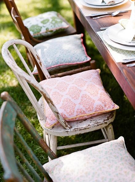 Chic chic cushion outdoor furniture Chair cushions