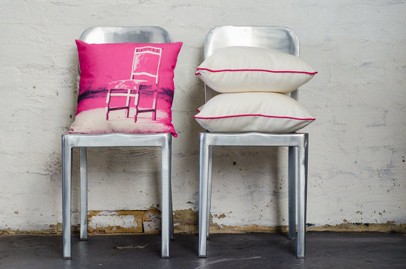 Colourful pillow decor ideas-chair cushion