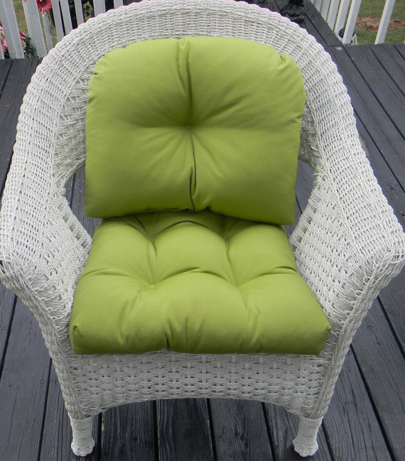 Green pillow with backrest-chair cushion Comfortable Pillows For Chairs