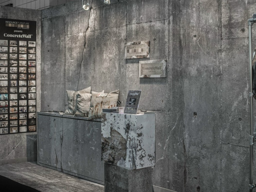 IndustriALL Grey Deco Pillow Concrete-Wallpapers in concrete optics Indus style