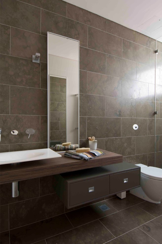 Current bathroom trends pre tend be curious for Modern bathroom tile trends