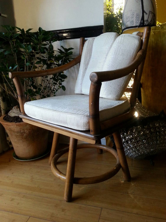 Vintage Wooden Chair Cushion